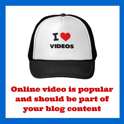 WSV Blog - Online video is popular and should be part of your blog content
