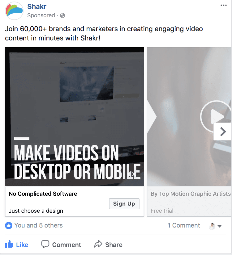 using video ads to obtain new customers